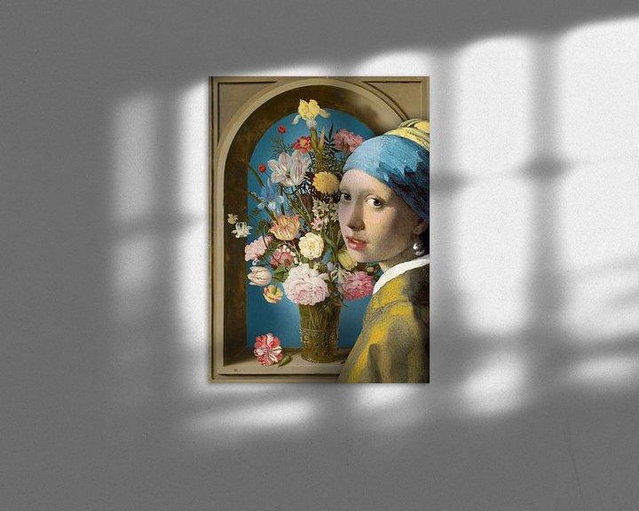 Sfeerimpressie: Meisje met de Parel – De Vaas met Bloemen van Marja van den Hurk