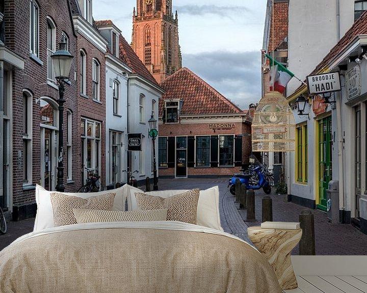 Sfeerimpressie behang: Amersfoort  Achter Het Oude Stadhuis van Dennisart Fotografie