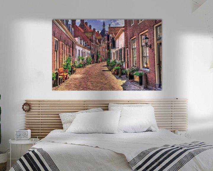 Sfeerimpressie: De Muurhuizen in Amersfoort van Dennisart Fotografie