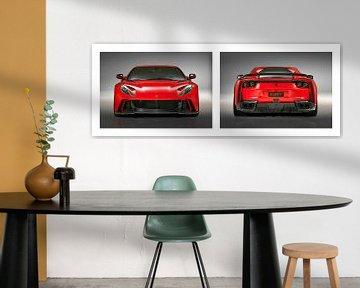 Ferrari 812 Superschnelles Novitec-Tuning von Gert Hilbink