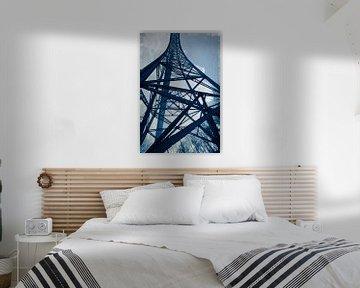 Stahlturm - Müngstener Brücke von Dirk Wüstenhagen