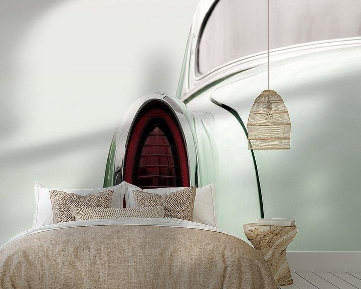 Sfeerimpressie behang: Amerikaanse klassieker 1954 Bel Air Powerglide van Beate Gube