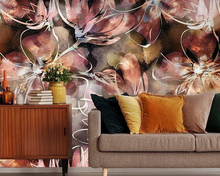 Sfeerimpressie behang: Bloom II van Jacky Gerritsen