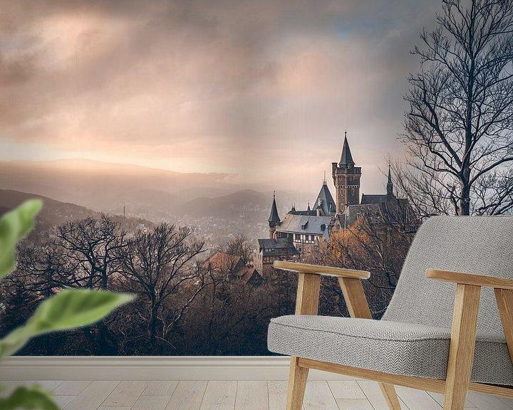 Beispiel fototapete: Schloss Wernigerode Mittelerde von Oliver Henze
