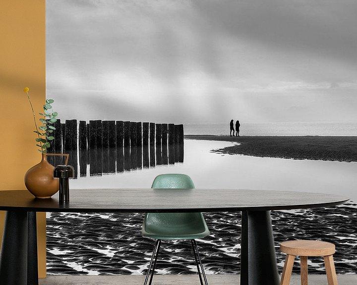 Sfeerimpressie behang: Westenschouwen - 2 van Nuance Beeld