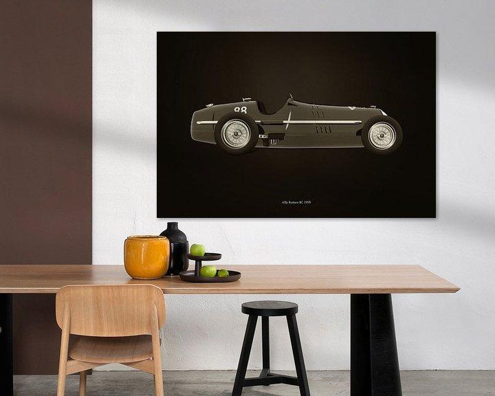 Sfeerimpressie: Alfa Romeo 8C 1935 B&W van Jan Keteleer