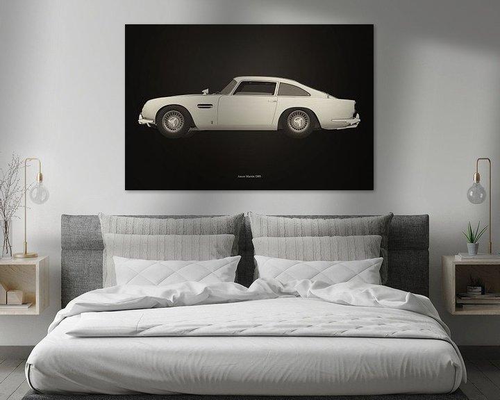 Sfeerimpressie: Aston Martin DB5 B&W versie van Jan Keteleer