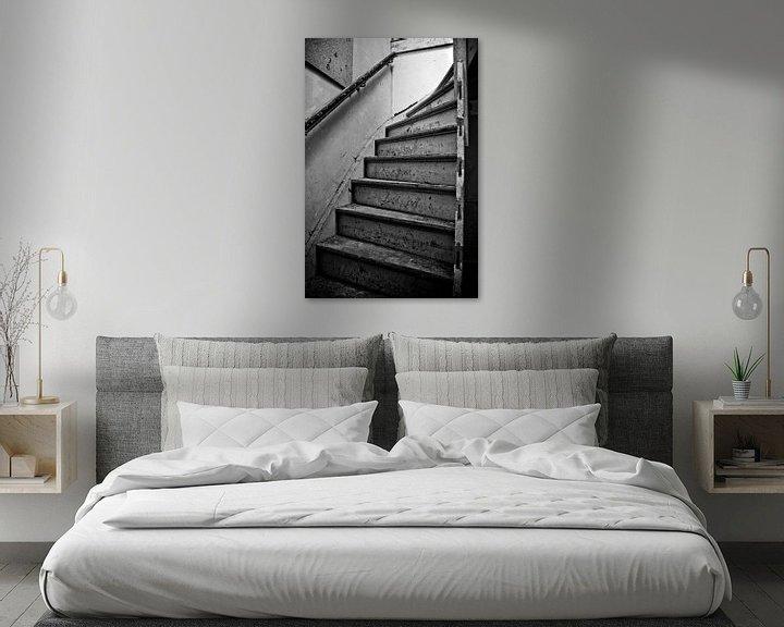 Beispiel: Alte Treppe von Dennis Claessens