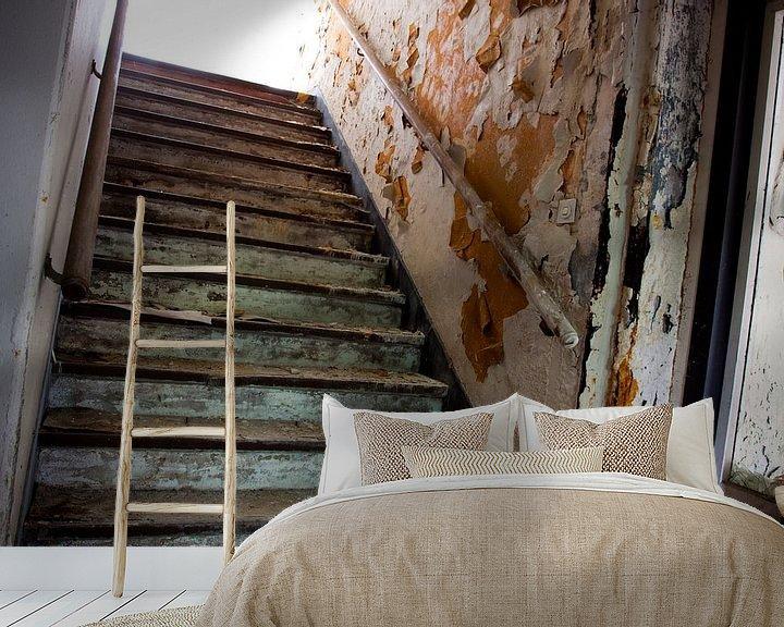 Beispiel fototapete: Alte Treppe von Dennis Claessens