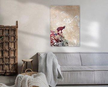 Kunst der Alpensteinböcke von JBJart Justyna Jaszke