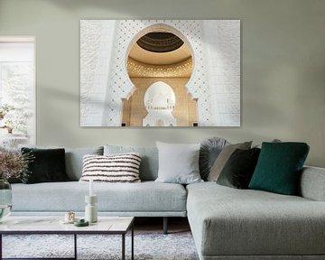 Eingang zur Grand Zayed-Moschee von Tijmen Hobbel