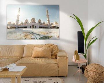 Plein van Grand Zayed Moskee van Tijmen Hobbel