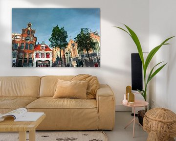 Amsterdamer Reflexion von Tijmen Hobbel