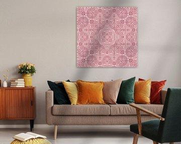 Pink Art Deco Design von Andrea Haase