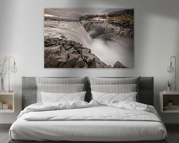 Dettifoss in noord IJsland, de kampioen van de Europese watervallen van Gerry van Roosmalen