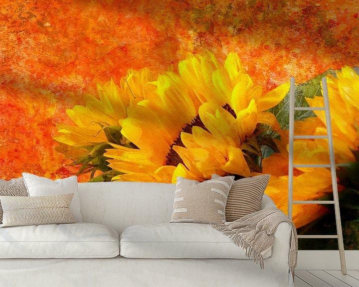 Beispiel fototapete: Sunflower 2020 von Andreas Wemmje