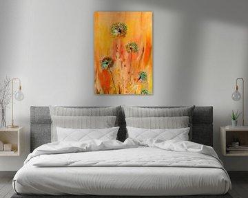 Le printemps d'Allium sur Claudia Gründler