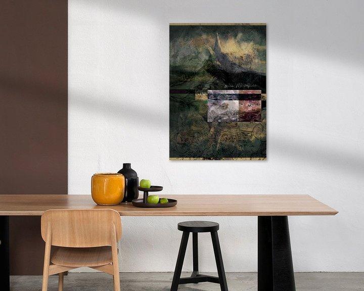 Impression: Rêve, montagne sur Wilfried van Dokkumburg