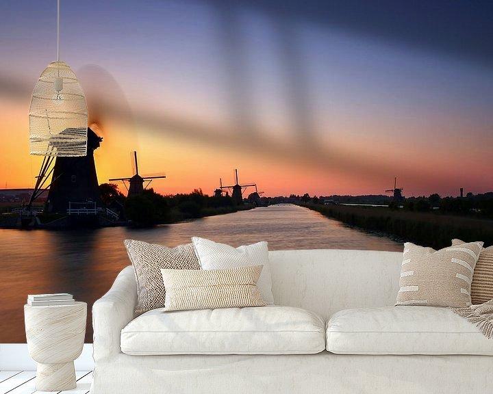 Impression: Les moulins à vent de Kinderdijk sur Frank Herrmann