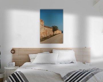 Tonnaria muur van Jadzia Klimkiewicz