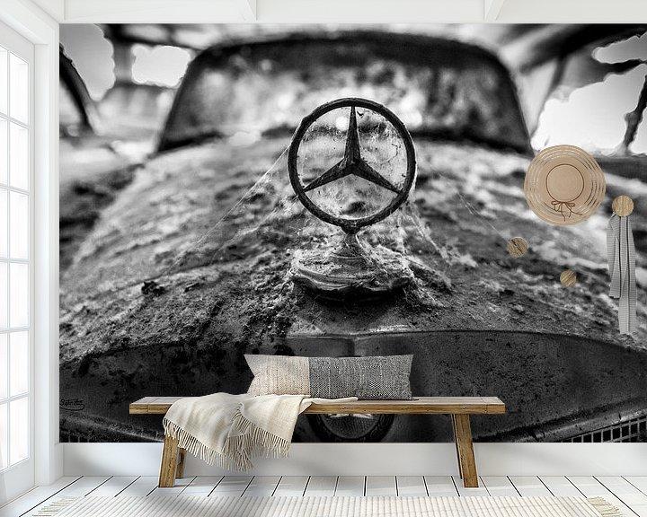 Sfeerimpressie behang: Klassieke auto van Stephan Zaun