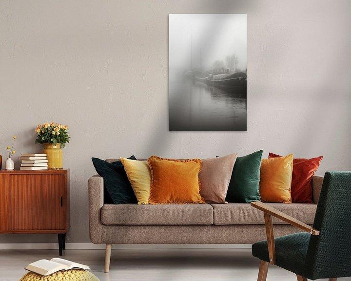 Sfeerimpressie: Verstilde mist van Jan van der Knaap