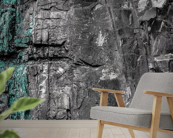 Sfeerimpressie behang: Rotsformatie van Olivier Photography