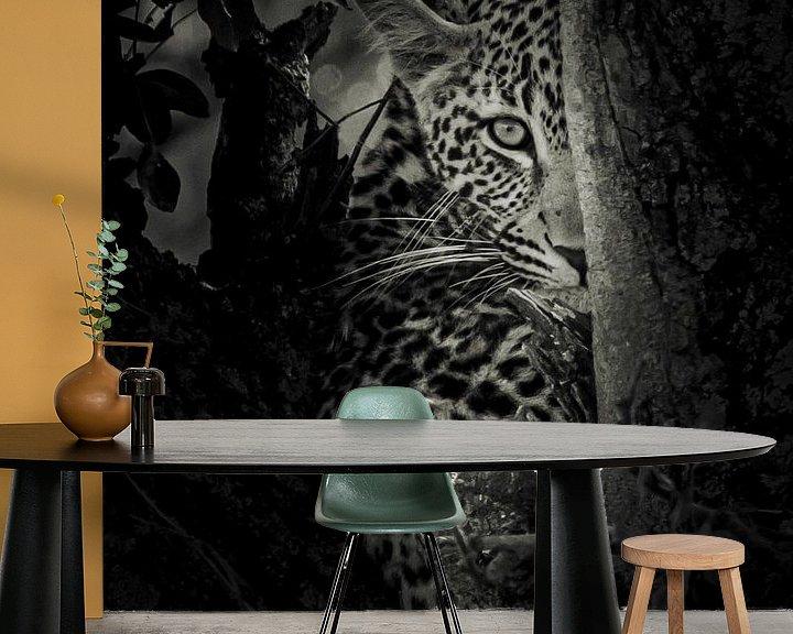 Sfeerimpressie behang: I see you van Sharing Wildlife