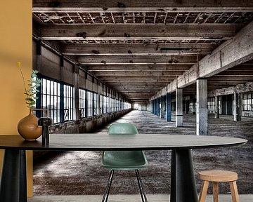 Strijp-S Eindhoven - uniek beeld van voor de renovatie van Bas Wolfs