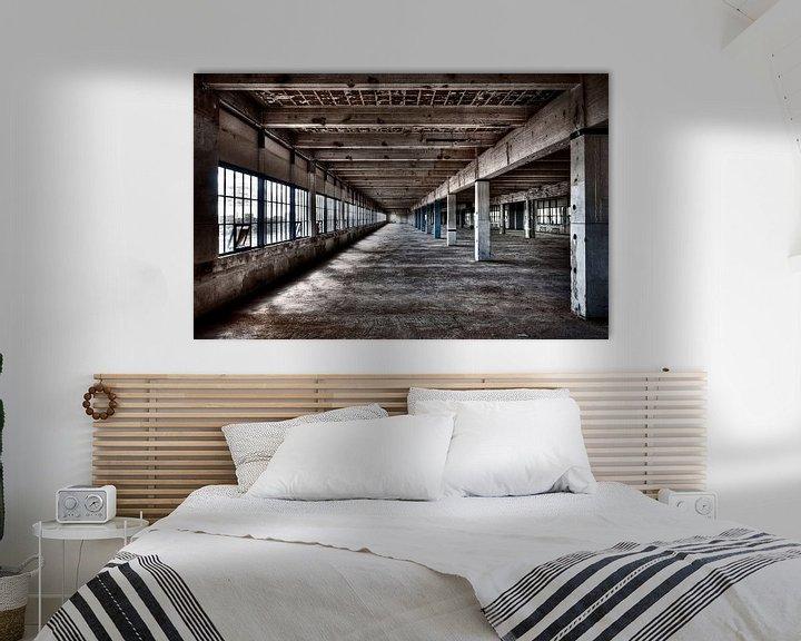 Sfeerimpressie: Strijp-S Eindhoven - uniek beeld van voor de renovatie van Bas Wolfs