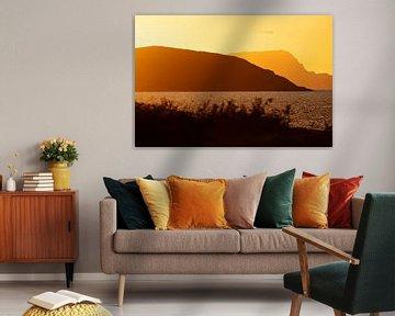 Ireland - Mayo - golden sunset II