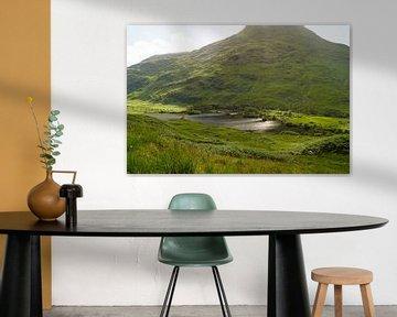 Berg in Glen Coe in Schotland. van Babetts Bildergalerie