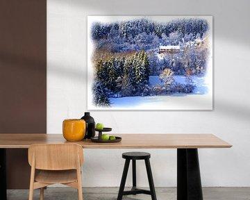 Winterdroom in de Eifel