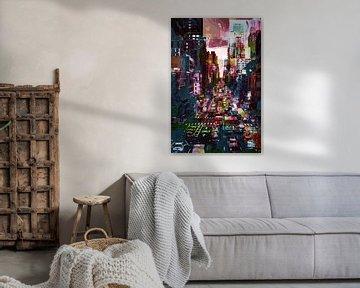 Das tägliche Leben in New York von The Art Kroep