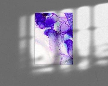 Abstract violett / Weihnachten (Teil2) von Ichi rosine