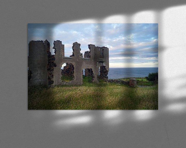 Impression: Ruine sur la route des torrents sur Babetts Bildergalerie