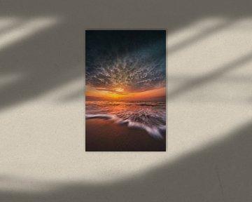 Oostkapelle zonsondergang van Andy Troy
