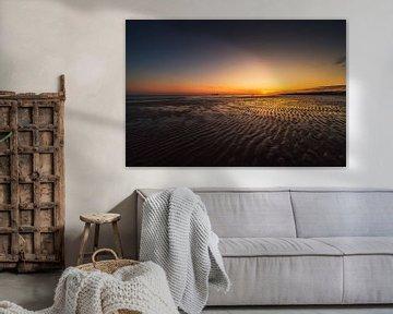 Zoutelande zonsondergang 3 van Andy Troy
