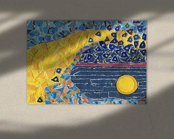 Himmlisches Gewölbe von Godelieve Kunst