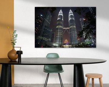 Kuala Lumpur - Petronas Towers von t.ART