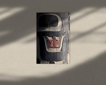 Totempfahl der kanadischen Ureinwohner ||||. von Nathan Marcusse