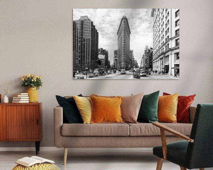 Sfeerimpressie: New York Flatiron Building van René Schotanus