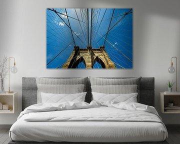 New Yorker Brooklyn-Brücke von René Schotanus