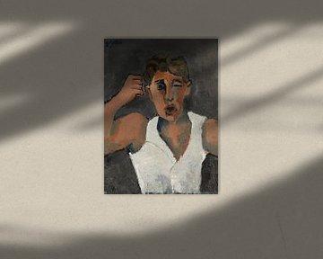 Der Drohende, HELMUT KOLLE 1930 von Atelier Liesjes