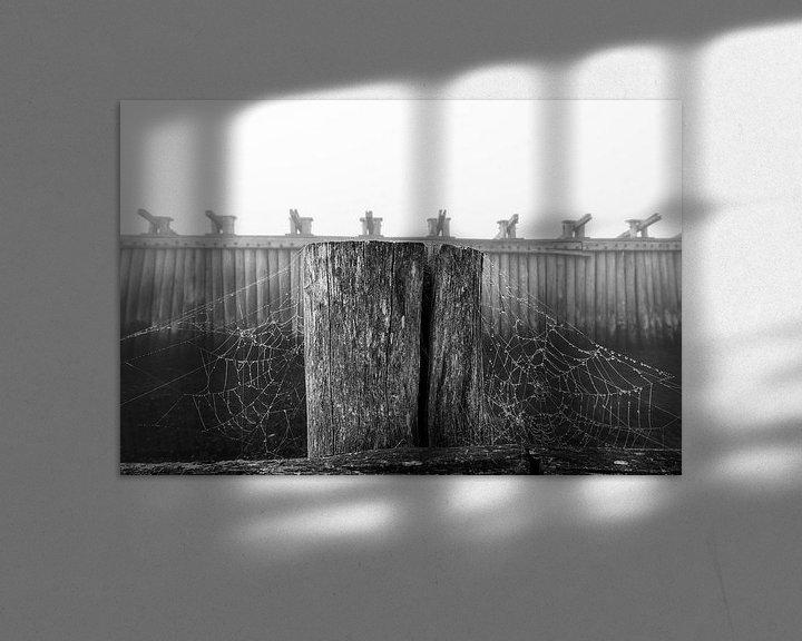 Sfeerimpressie: Palendijk in de mist van Felix Sedney