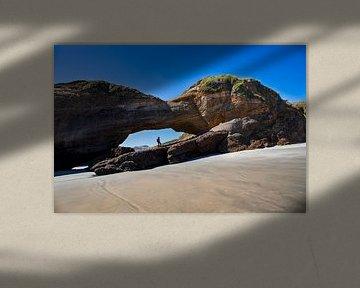 Wharariki Beach van Antwan Janssen