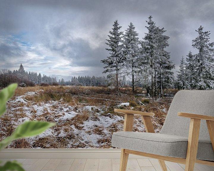 Beispiel fototapete: Das Winterparadies von Rik Verslype