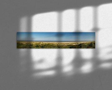 Panorama duinlandschap Flaauwe Werk van Kristof Leffelaer