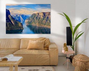 Aurlandsfjord, Norwegen