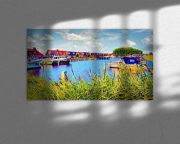 Erholungshafen Heerhugowaard von Digital Art Nederland